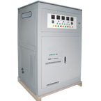 SBW-F Series Adjustable three phase full-automatic compensated power voltage stabilizer is a new design voltage stabilizer improved based at SBW series products, the only difference with SWB series.this type used three motor control and three electronics PCB board control systems.also is three sets of single-phase voltage stabilizer by